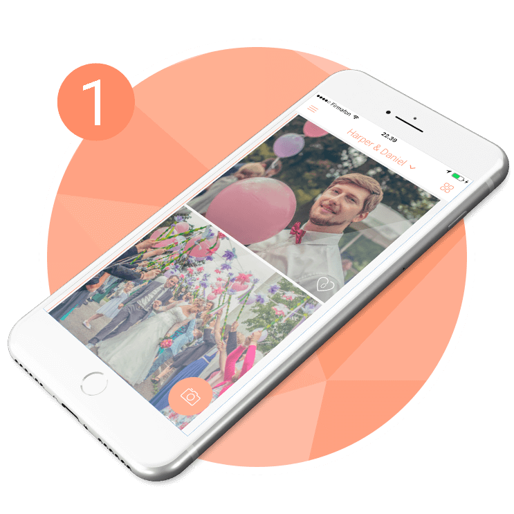 Photo app for weddings