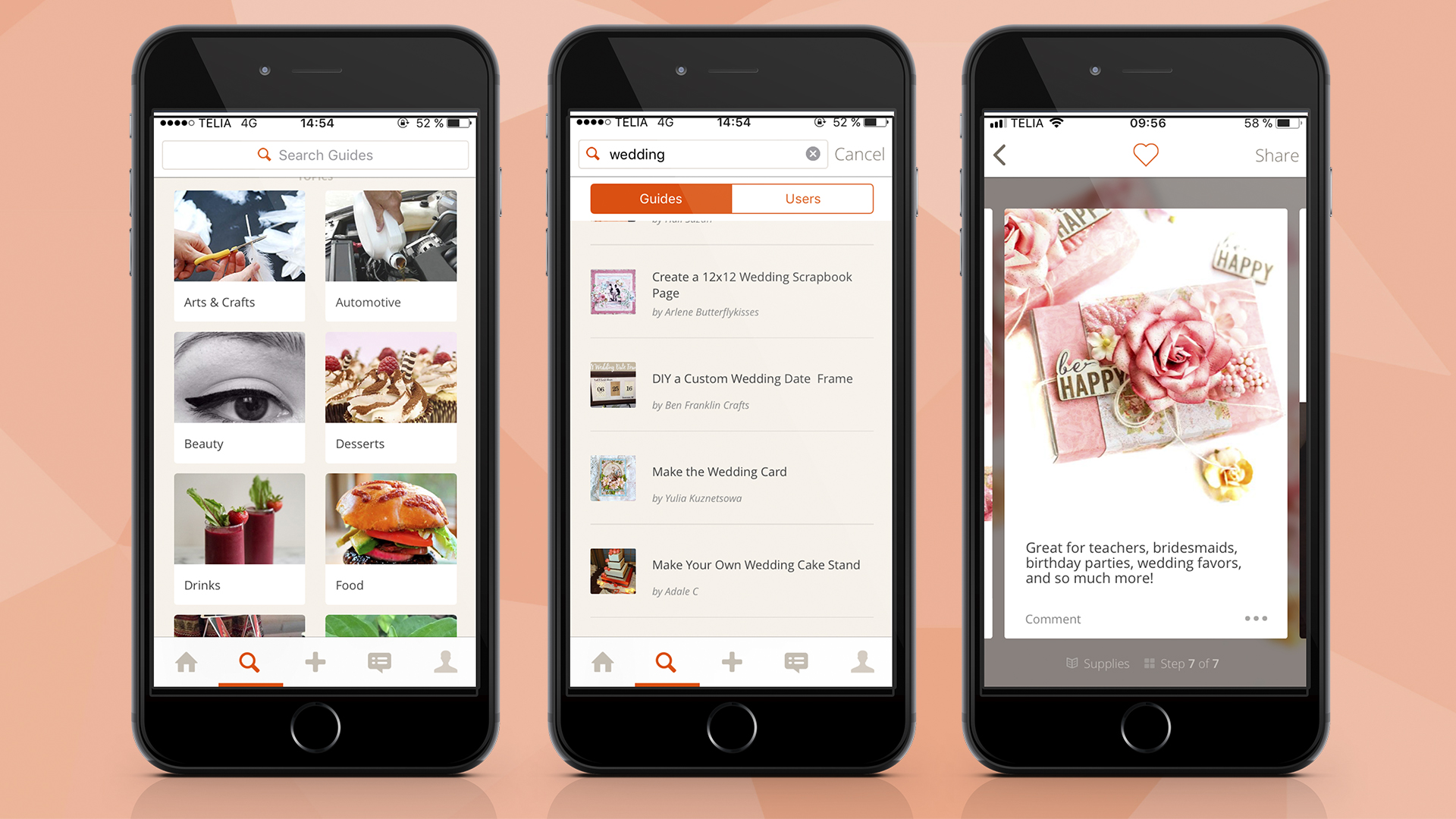 Snapguide app easier experience for wedding planning