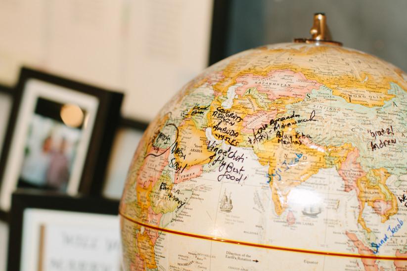 Signed globe