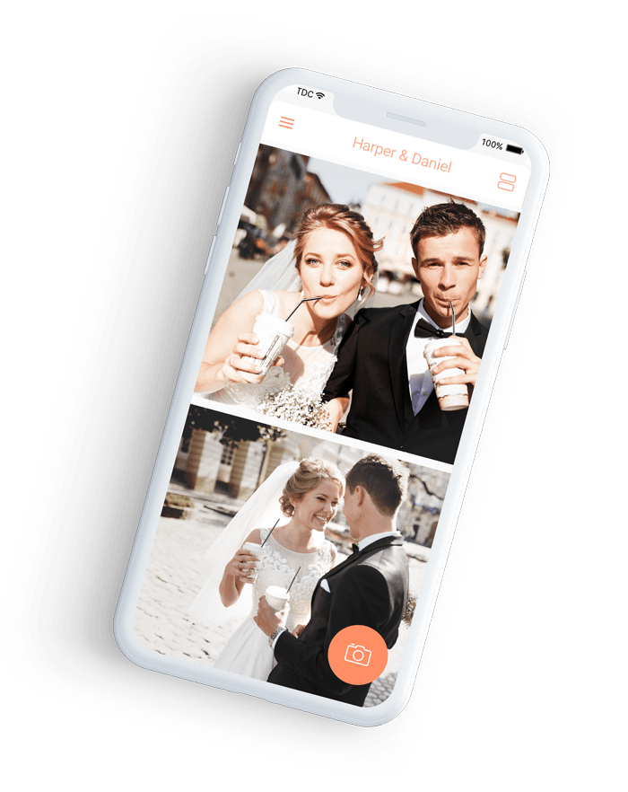 Wedbox wedding photo app