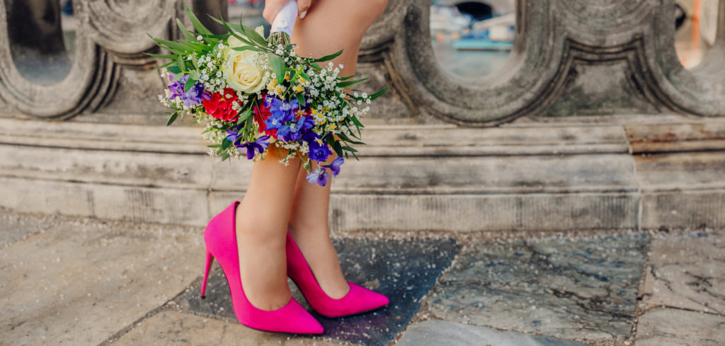 heels, pink pumps to wear on your wedding day, best shoes