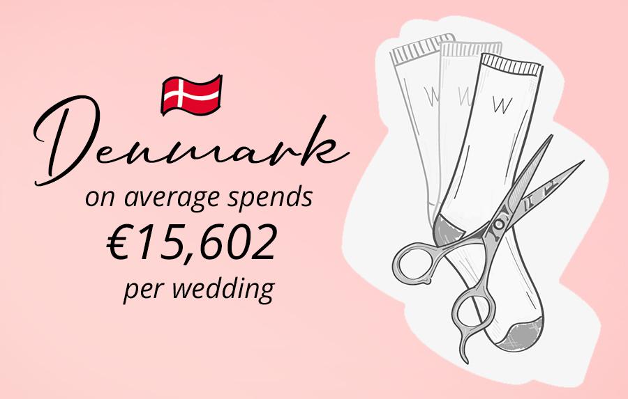 Danish people cut socks in weddings, weird traditions