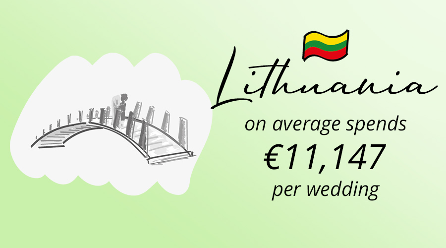 Lithuania, lietuva traditions of weddings, carrying a bride across the bridge, spends