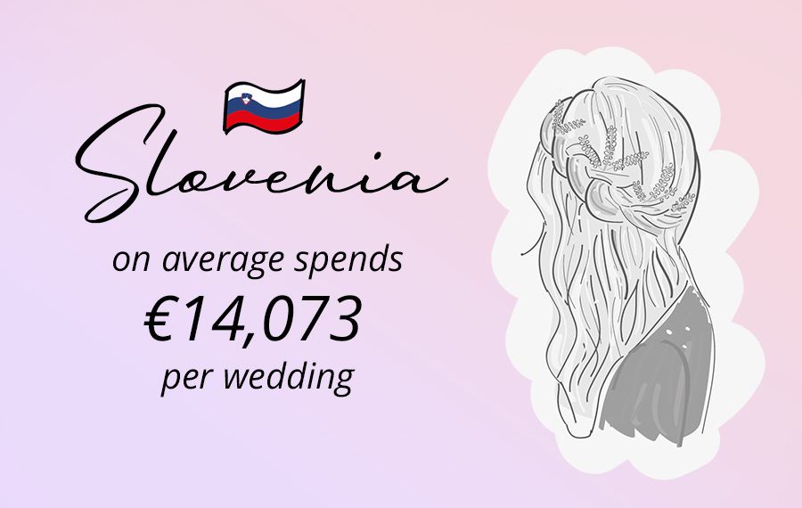 slovenia throwing rice in weddings, average costs wedbox